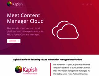 kapish.com.au screenshot