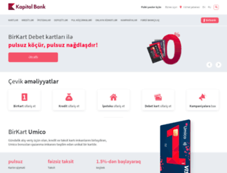 kapitalbank.az screenshot