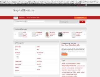 kapitaldomains.com screenshot