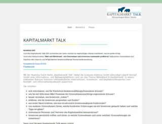 kapitalmarkt-talk-mrn.de screenshot