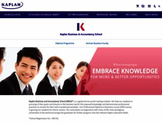 kaplan.edu.hk screenshot