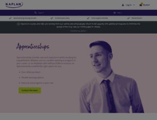 kaplanapprenticeships.co.uk screenshot