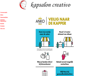 kapsaloncreativo.nl screenshot