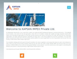 kapsan.in screenshot