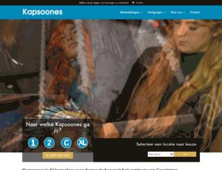 kapsoones.nl screenshot