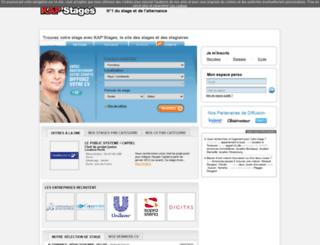 kapstages.com screenshot