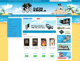 kaptenkrok.se screenshot