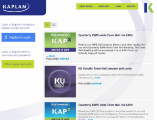 kapx-secure.kaplan.com screenshot