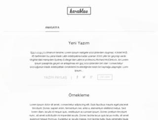 karablue.esy.es screenshot