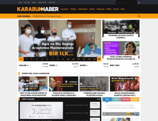 karabukhaber.com.tr screenshot