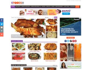 karachifoods.com screenshot