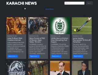 karachinews.com.pk screenshot