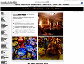 karachisnob.com screenshot
