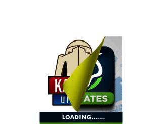 karachiupdates.com screenshot