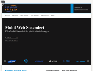 karadenizbilisim.com.tr screenshot
