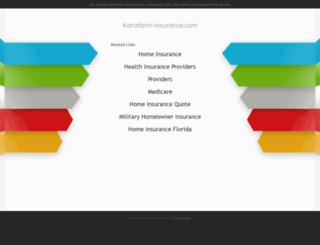 karafarin-insurance.com screenshot