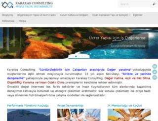 karakasconsulting.com screenshot