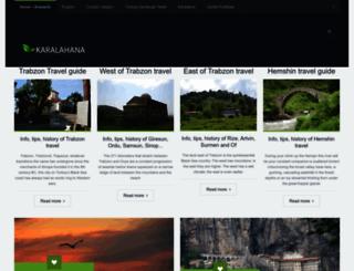 karalahana.com screenshot
