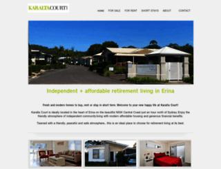karaltacourt.com.au screenshot