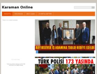 karaman70.webnode.com.tr screenshot