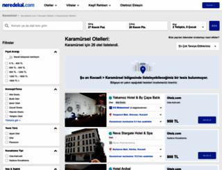 karamursel.neredekal.com screenshot