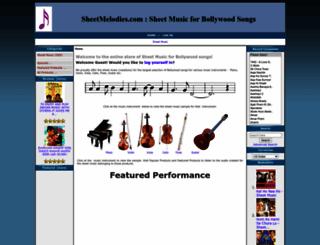 karaoke-melodies.com screenshot