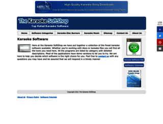 karaoke-software.net screenshot