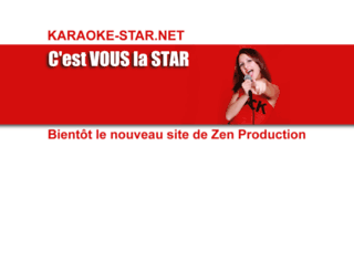 karaoke-star.net screenshot