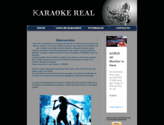 karaokeall.blogspot.mx screenshot