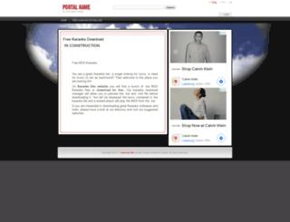karaokeden.com screenshot