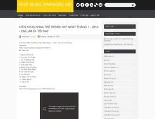 karaokehd.blogspot.com screenshot