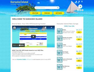 karaokeisland.com screenshot