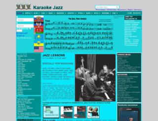 karaokejazz.com screenshot