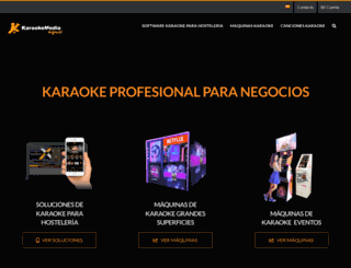 karaokemedia.com screenshot