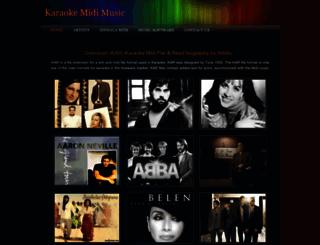 karaokemusic.weebly.com screenshot