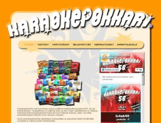 karaokepokkari.fi screenshot