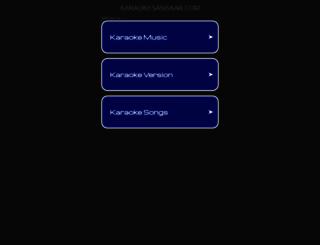 karaokesansaar.com screenshot