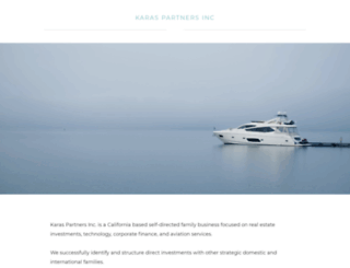 karaspartners.com screenshot