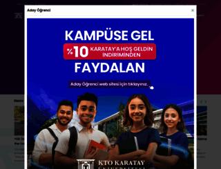 karatay.edu.tr screenshot