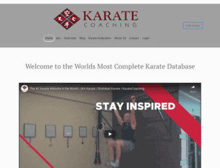 karatecoaching.com screenshot