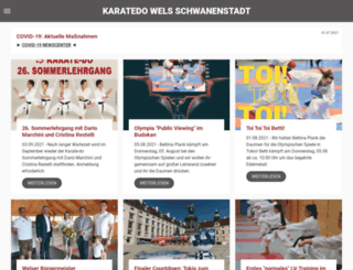 karatedo.at screenshot