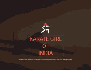karategirl.in screenshot