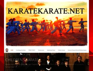 karatekarate.net screenshot