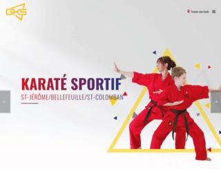 karatest-jerome.com screenshot
