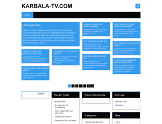 karbala-tv.com screenshot