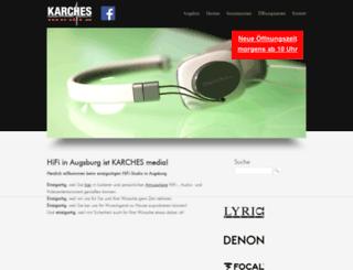 karches-media.de screenshot