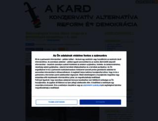 kard.blog.hu screenshot