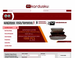 kardusku.com screenshot