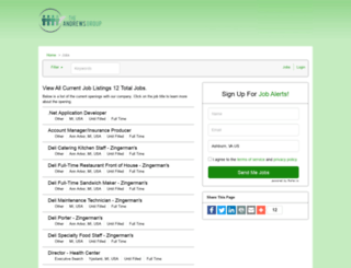 karenandrewsgroup.iapplicants.com screenshot