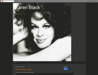 karenblackactress.blogspot.com screenshot